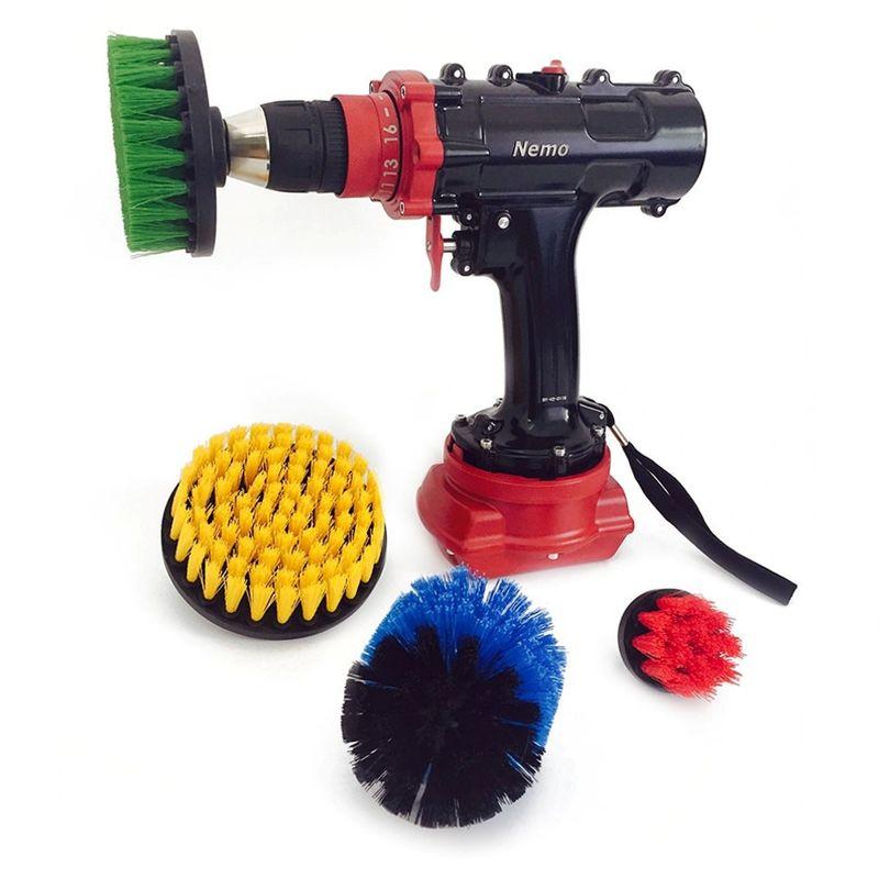 Nemo Underwater Drill Brush Set 4 Piece