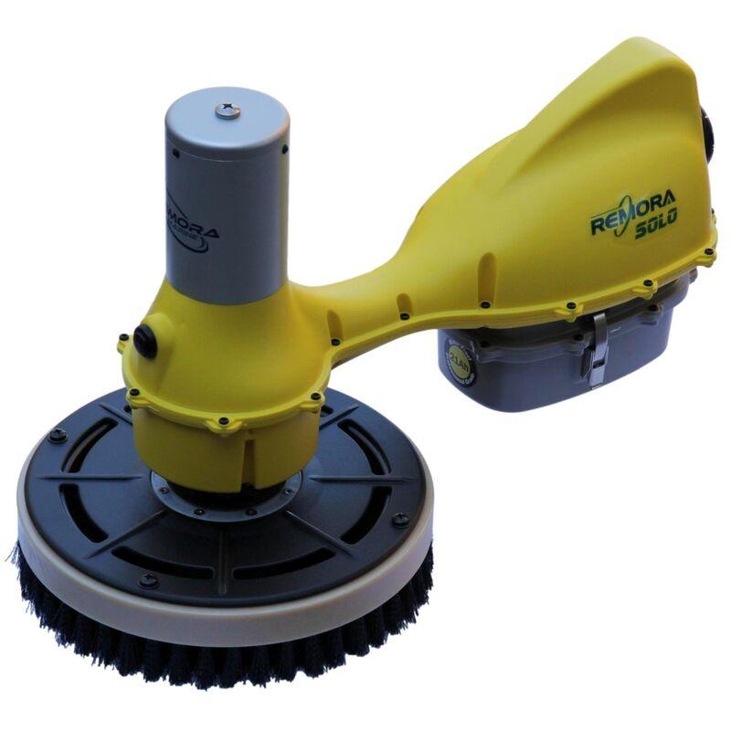 Remora Solo Hull Cleaner Kit 21Ah Battery Flat Brush 1 Soft
