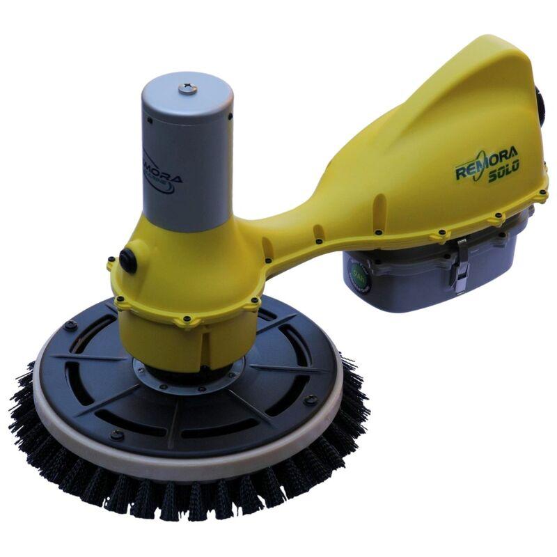 Remora Solo Hull Cleaner Kit 9Ah Battery 45 Edge Brush 1 Soft