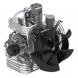 Nardi Paintball Compressor. Atlantic G100 Petrol (225 bar)