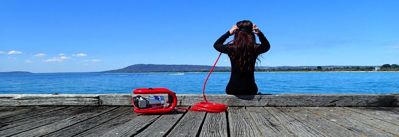 Dive hookahs oilless high pressure compressors ac diving - Electric dive hookah ...